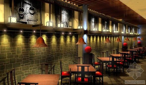 北京主题餐厅装修设计,全面吊住顾客味蕾