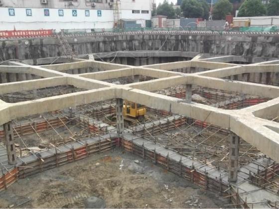 深基坑内支撑基坑开挖顺序图_12
