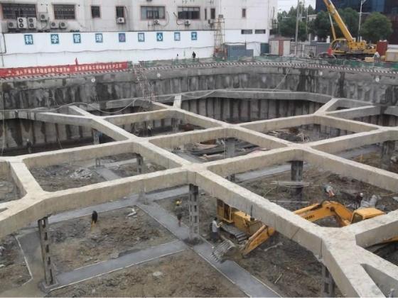 深基坑内支撑基坑开挖顺序图_10
