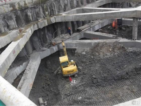 深基坑内支撑基坑开挖顺序图_13
