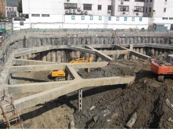 深基坑内支撑基坑开挖顺序图_9