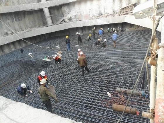 深基坑内支撑基坑开挖顺序图_19