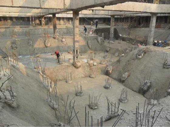 深基坑内支撑基坑开挖顺序图_17