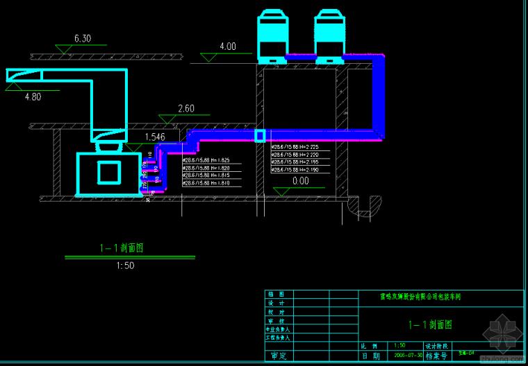 一,项目概况 该项目有三个配电室,配电室内低压配电出线图片