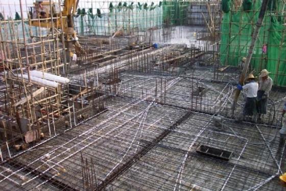 建筑工程铝合金模板施工现场照片