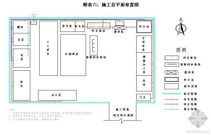市政道路施工组织设计技术标