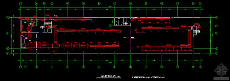 地下超市空调设计图