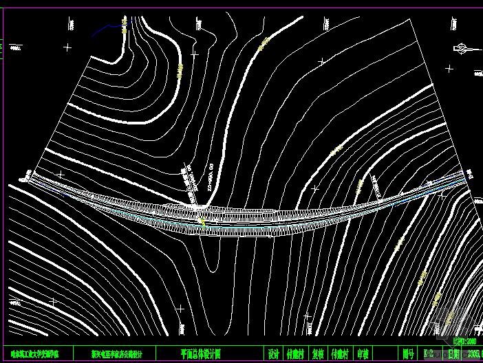 [ 赞 ]二级公路整套CAD设计图纸
