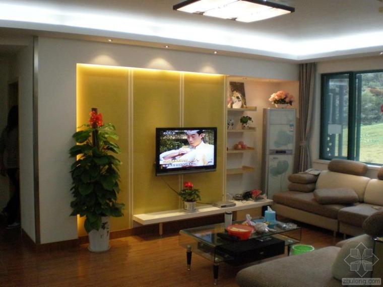 两室一厅施工图附完工照片