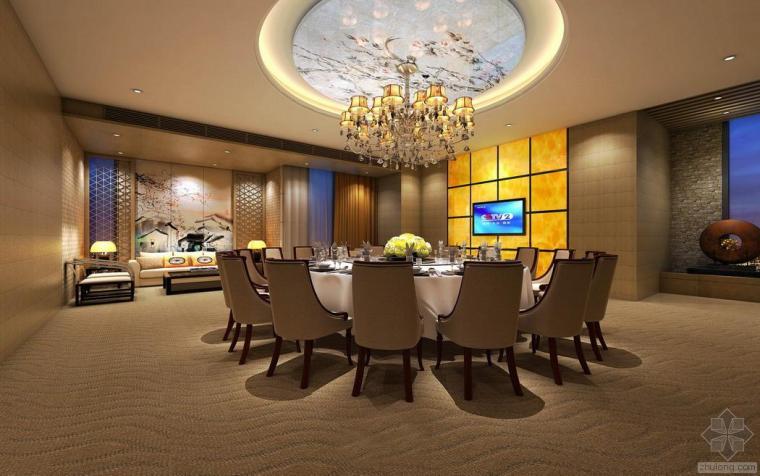 贵州山水大酒店餐厅设计方案