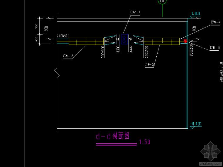 某商场快餐厅中央空调图