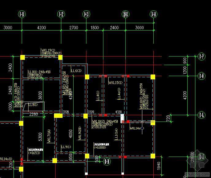 请教楼板开洞加固方案,旋转楼梯洞改长方形洞口