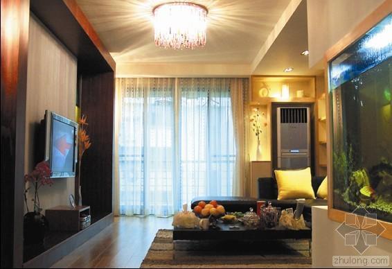 现代风格四室二厅装修图(含实景)