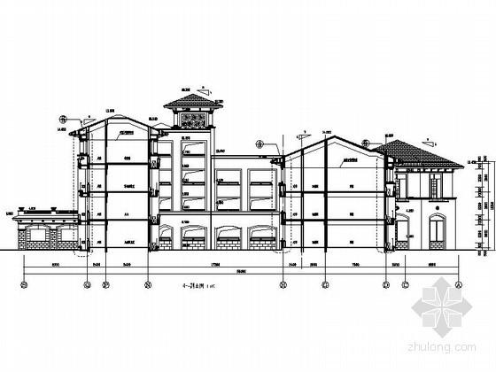 二十四班欧式幼儿园建筑施工图