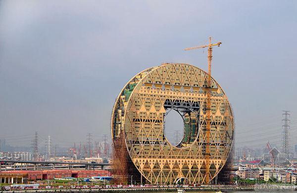 CNN公布2014年十大吸引眼球建筑中国四建筑入围