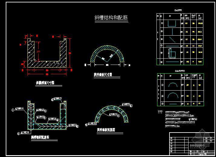 隧道施工cad图纸免费下载