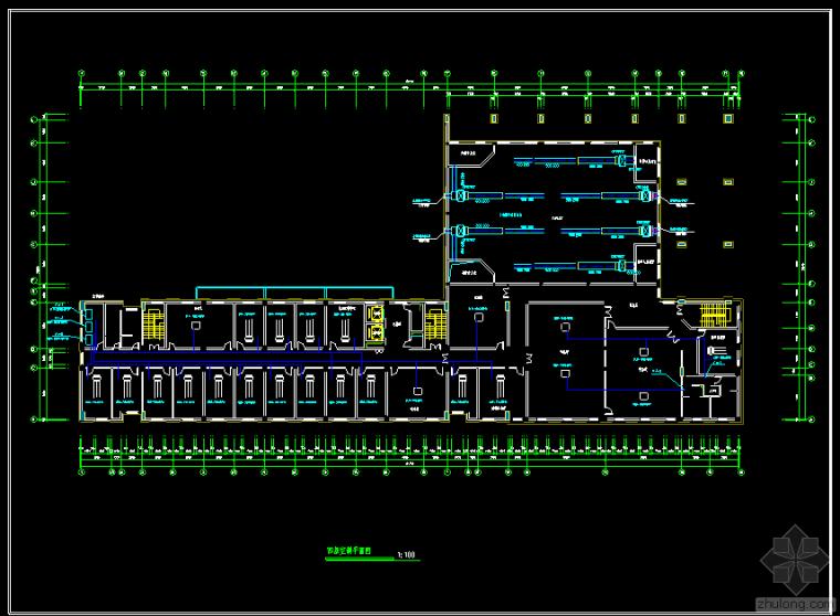 某办公楼VRV空调平面图
