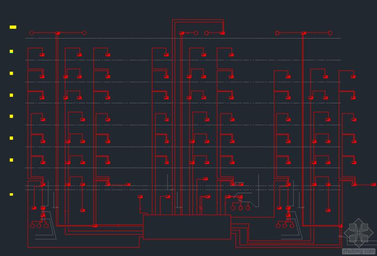 某学生公寓配电干线图