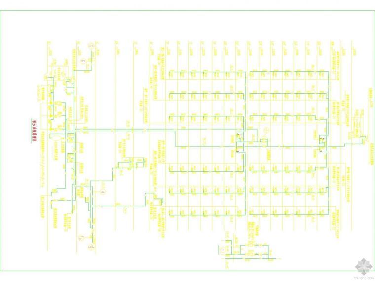 二十三层建筑给排水图纸
