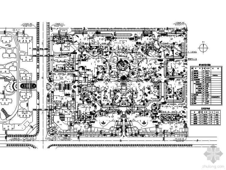 南滟碧湖花园十八层欧式风格住宅楼施工图