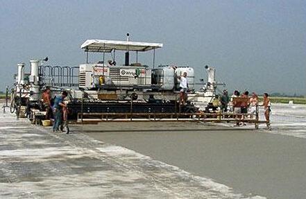 水泥混凝土面层滑模摊铺标准化施工要点