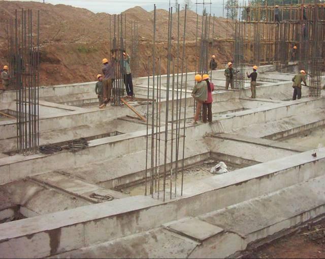 施工现场照片第二部分(混凝土 楼地面 墙柱面)