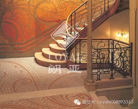 [朗亚铁艺]铁艺楼梯扶手安装要经过的几个步骤