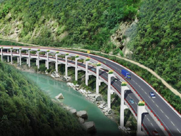 洛塘河双层高架桥