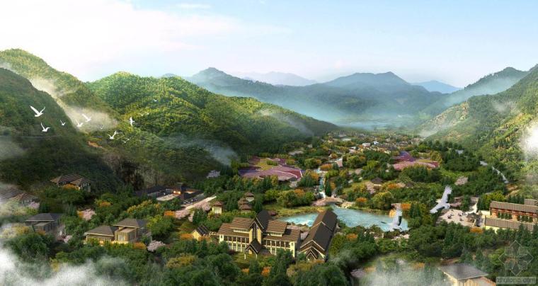 青岛芳香山谷度假区概念规划
