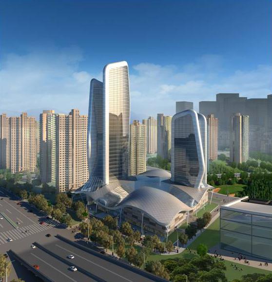 武汉王家墩五星级酒店规划