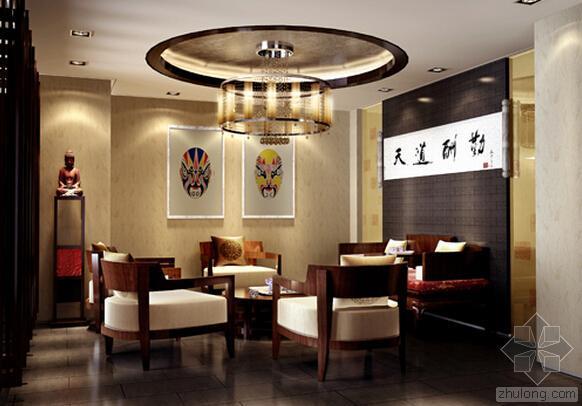 让你舒适自然,坐下就不想走的中式茶楼装修