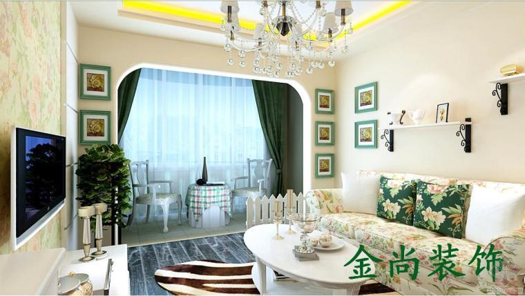 东岸家园温馨两居室装修设计——喜欢的就是最棒的