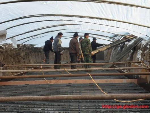 冬季混凝土施工的防护措施
