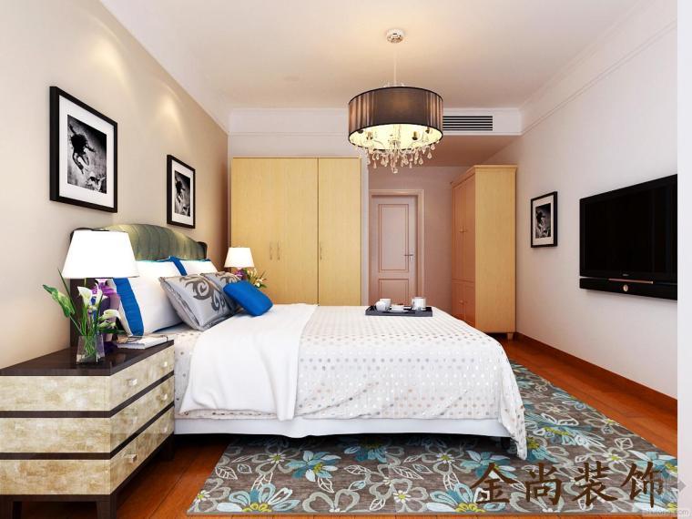 室内装修各种风格卧室效果图