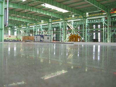 耐磨地坪中的混凝土密封固化剂