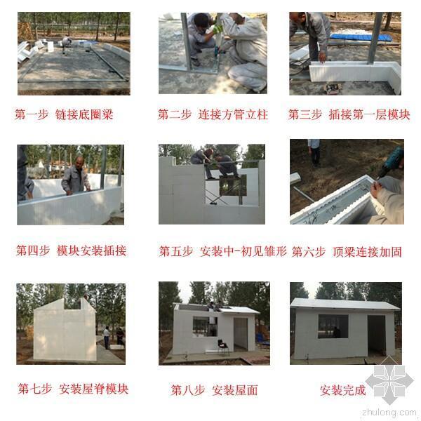 海容EPS轻钢结构保温板房,冬天不用生炉子,夏天不用吹空调