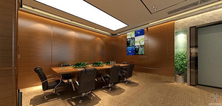 三套办公室工装施工图+效果图素材,简单易懂,实用性强!新手老鸟皆宜!