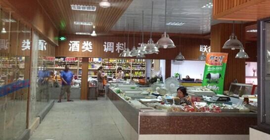 杭州农贸市场巧用金刚砂地坪改造换新貌