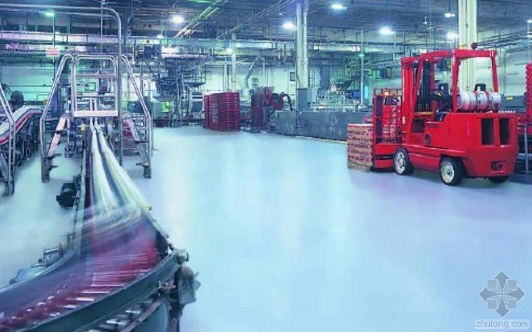 高性能地坪系统在可口可乐的应用