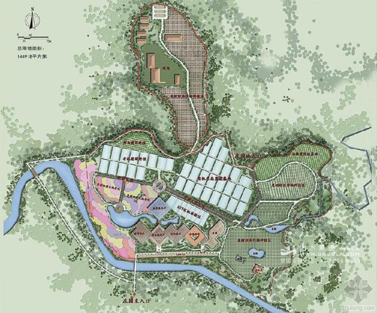 南充有机生态庄园规划