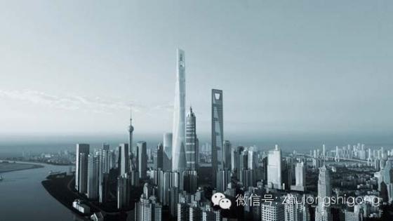 632米上海中心从开工到封顶全纪录