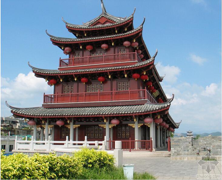 """注册建筑师复习资料之中国传统建筑的""""恒久变易"""""""