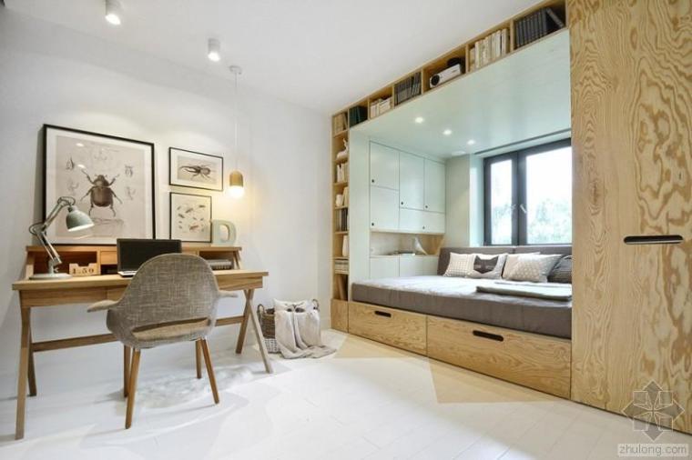 14岁女孩14平米卧室巧妙设计|俄罗斯