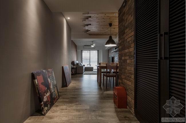 桃园美式复古风公寓 / 浩室空间设计