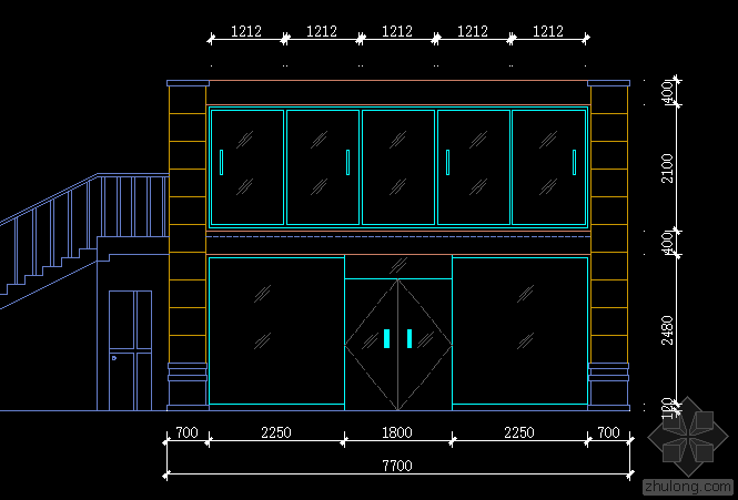能帮忙设计下二层小办公楼的钢结构吗