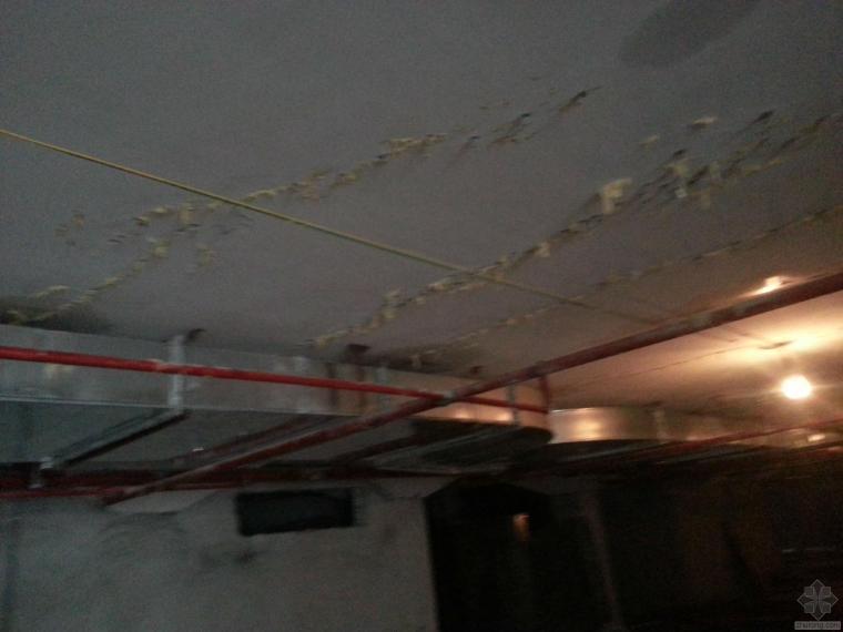 地下室顶板裂缝