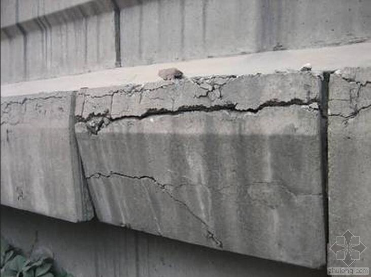 混凝土结构裂缝成因及预防措施之一