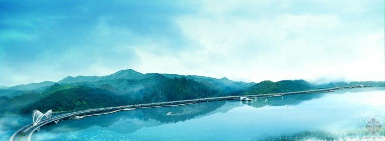 沾天湖景观桥梁欣赏