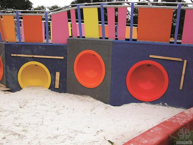 儿童游乐园cad图纸资料下载-墨尔本儿童艺术游乐园景观设计