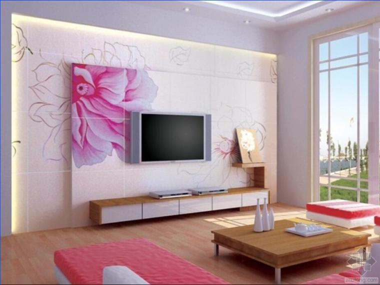 影视墙——体现主人的品味和艺术涵养